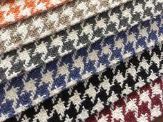 DANZA: Tapicería de Ontario Fabrics. | Tapisseria d'Ontario Fabrics. #potadegall #patadegallo #houndstooth