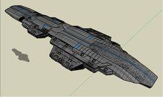 starship heavy carrier by emppyrean.deviantart.com on @deviantART