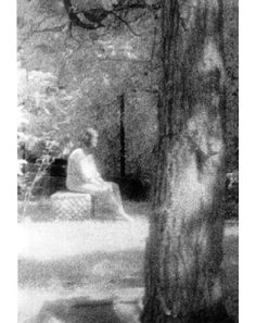 This photo was taken during an investigation of Bachelor's Grove cemetery near Chicago by the Ghost Research Society (GRS). On August 10, 1991, several members of of the GRS were at the cemetery, a small, abandoned graveyard on the edge of the Rubio Woods Forest Preserve, near the suburb of Midlothian, Illinois. Reputed to be one of the most haunted cemeteries in the U.S., Bachelor's Grove has been the site of well over 100 different reports of strange phenomena.