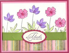Botanical Blooms by Stampin Up