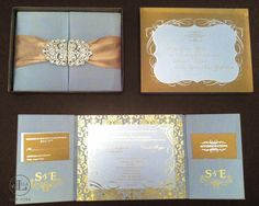 White and Gold Wedding. Gold & Silver Wedding Invitations by Lela New York Silver Wedding Invitations, Gold Wedding Invitations, Wedding Stationary, Wedding Cards, Elegant Invitations, New York Wedding, Wedding Blog, Wedding Ideas, Trendy Wedding