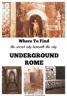 Most tourists don't know about underground Rome, the secret city beneath the city. Find out why you need to go below ground see it & the treasures it holds! Italy Travel Tips, Rome Travel, Travel Destinations, Travel Europe, Budget Travel, Travel Guide, Malta, Must See In Rome, Monaco