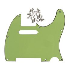 New 3Ply 8Holes TELE Guitar Pickguard for Telecaster Style Guitar DIY replacement ,w/20pcs silver Screws (5 Colors options) #Affiliate
