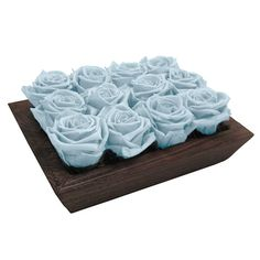 Cool Rose Tray $75 - The roses last over 6 months without water