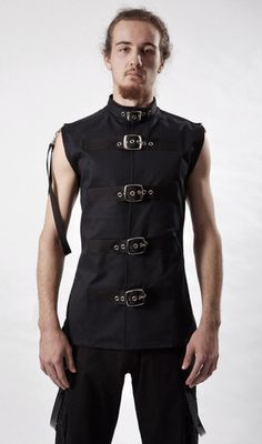 Buckle Vest - size 44. https://www.galleryserpentine.com/collections/tops-tshirts