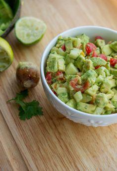 Tomato, Cucumber & Avocado Salad   carriesexperimentalkitchen.com #cincodemayo