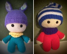 [Free Pattern] This Adorable Big Head Baby Doll Wil Make You Giggle With Joy - http://www.dailycrochet.com/free-pattern-this-adorable-big-head-baby-doll-wil-make-you-giggle-with-joy/