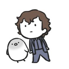 Hmm.. Sherlock Dancing.. with a penguin.. okay. I'm okay with this. Click for link. (there is a John one too)
