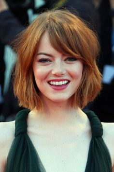 Fall haircolor trend for the redheads: Deep Copper emma-stone