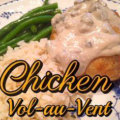 Rita's Recipes: Chicken Vol-au-Vent