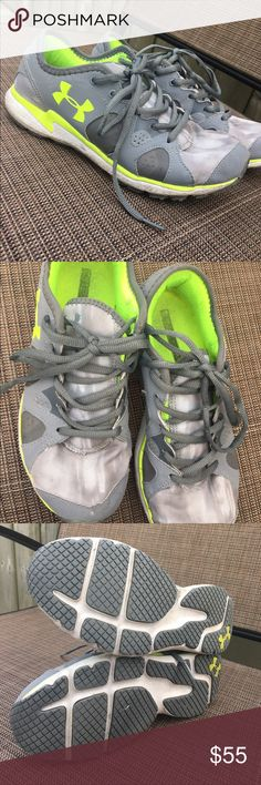 Women's UA Shoes Some signs of ware. Still in good condition. Under Armour Shoes