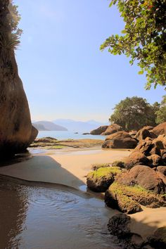 Felix Beach, Ubatuba, Brasil. Paradise is here!
