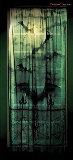 Lace Decor Window Panel at Costumes4Less.com