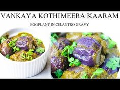 Spread the Love.!Jump to Recipe Print RecipeInstant pot Vankaya Kothimeera Kaaram is a Andhra Cuisine specialty curry made of baby eggplants and cilantro as the base of the dish. You can call it as Eggplant Cilantro curry in English if you wish. Vankaya = eggplant …
