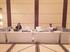 Fiona making sureeverything runs smoothly at the conference in the Westin Dubai Conference, Dubai, Running, Keep Running, Why I Run, Lob