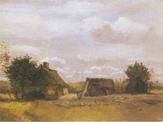 Van Gogh - Bauernhaus, 1885