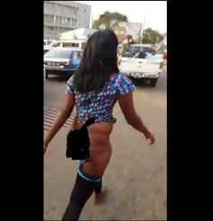 Welcome To Chitoo's Diary.: OMG !!!  Woman Goes Mad ,Parades Herself Naked Aft...