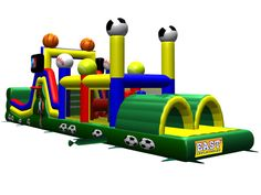 Buy cheap and high-quality Inflatable All Star Obstacle Course Game. On this product details page, you can find best and discount Inflatable Obstacles for sale in 365inflatable.com.au