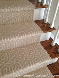 """The carpet is called """"Fillmore"""" in Linen by Stanton Carpets."""