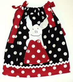 OLIVIA THE PIG Baby Girl Pillowcase dress   by Janslittlehearts, $23.95