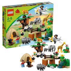 LEGO 6156 DUPLO Ville: Safari-Abenteuer