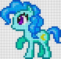 Pony Perler Bead Pattern / Bead Sprite