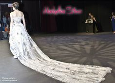 The World Is Your Runway Something Borrowed, Something Old, Something Blue Wedding, Bride Groom, Jasmine, Champagne, Fashion Show, Runway, Gowns