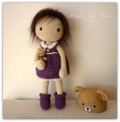 Amigurumi Crochet Doll Sylvie by Rusi Dolls por RusiDolls en Etsy ♡