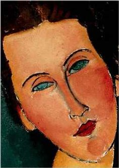 Amedeo Modigliani (Italian painter and sculptor, 1884-1920) - Madame G. Van Muyden (detail), 1916-17