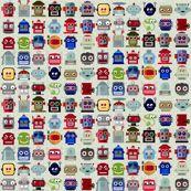 Lotsa Bots by dianarich, click to purchase fabric