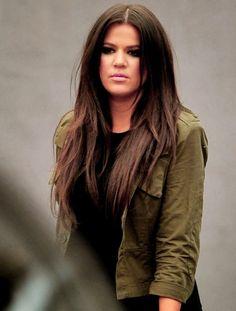 Khloe Kardashian Odom HAIR