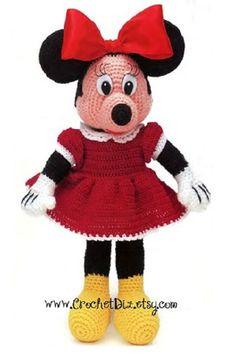 Disney Minnie Crochet Pattern PDF