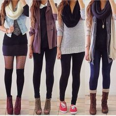 cool back to school outfits for high school girls