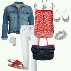White jeans are elegant