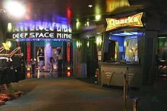 Star Trek: The Experience at The Las Vegas Hilton (this is no longer there, but when we lived in Las Vegas, it was and it was so cool)!