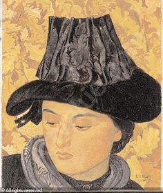BIÉLER Ernest, Swiss - 1863-1948 - Jeune saviésanne