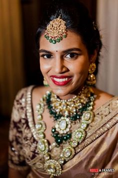 Ever Heard Of A 'Destination Engagement'? This Couple Had One In Goa With Dazzling Outfits! Indian Jewelry Sets, Indian Wedding Jewelry, Bridal Jewellery, Indian Wedding Planning, Wedding Planning Websites, Saree Wedding, Wedding Bride, Cricut Wedding, Engagement Decorations