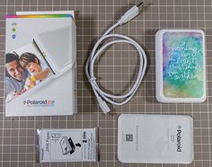 Review & Demonstration   Polaroid ZIP Mobile Printer