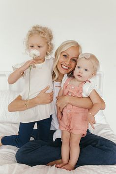 Hailey Devine and her lovely little girls sporting Made By Mary jewelry - so in love with these girls!