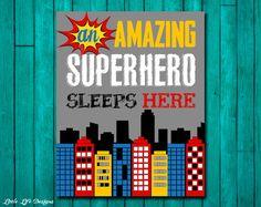 Superhero Wall Decor printed superhero wall prints, super hero prints, superhero wall