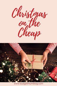 Christmas on the Cheap - Budget Mum Cheap Christmas, Christmas Presents, Australian Christmas, Thinking Outside The Box, Ask For Help, Ways To Save Money, Fairy Lights, Wonderful Time, Dried Flowers