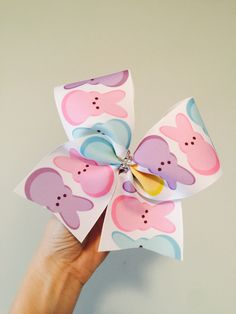 Big Cheer Bows, Big Bows, Disney Bows, Graduation Hairstyles, Easter Peeps, Little Bow, Craft Fairs, Hair Ties, Pretty Hairstyles
