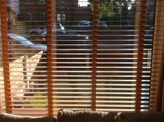 Blinds in living room x