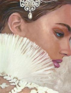 Original-Painting-034-Glamour-034-Beautiful-Woman-Oil-Painting-on-Paper-7-5x5-7in