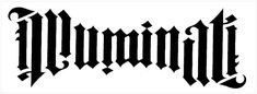 Illuminatus Ambigram
