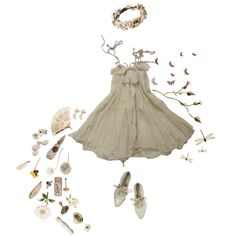 a Fairy in my Backyard by sputniken on Polyvore featuring мода, Alberta Ferretti, Jamie Joseph and Alba Botanica