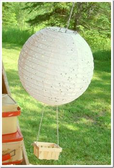 Hot Air Balloons from Pergola