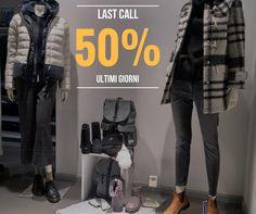 #LastCall: Ultima chiamata!  Ultimi giorni di #Saldi con il #metàprezzo!  T.U.T.T.O al 50%! (eccetto continuativi)  #Sale50Off a #Grottammare e #SanBenedettodelTronto
