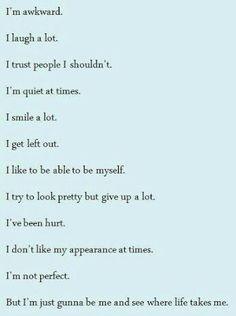 And God loves me so that's all I need | Pinterest: @NinaRose15 ☆♡☆