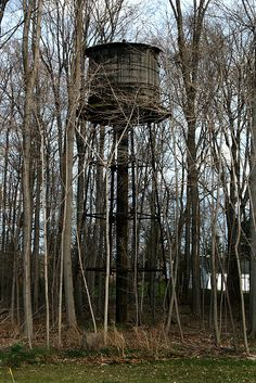 Abandoned Water Tower in Ohio